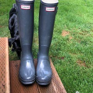 Charcoal Hunter Boots